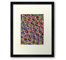 abstract painting 11 Framed Print