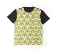 Showland Scroll - cream pattern Graphic T-Shirt