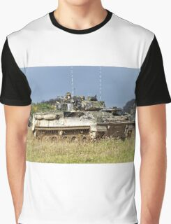 British Army Warrior Infantry Fighting Vehicles Graphic T-Shirt