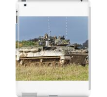 British Army Warrior Infantry Fighting Vehicles iPad Case/Skin