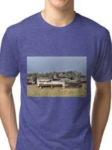 British Army Warrior Infantry Fighting Vehicle Tri-blend T-Shirt