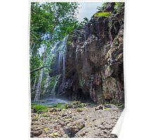 Serenity at Hugh's Dale Waterfall Poster