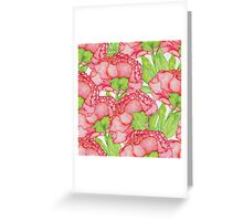 Watercolor Floral pattern Greeting Card