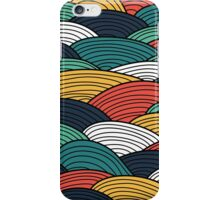 Wavy Vector Abstract iPhone Case/Skin