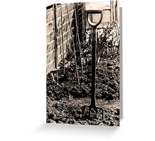 Gardeners Rest Greeting Card