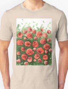 Roses gradient T-Shirt