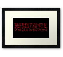 star wars-resistance Framed Print