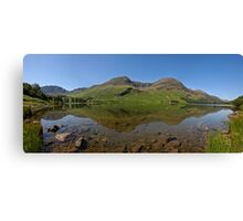 Butteremere lake district cumbria  Canvas Print