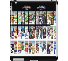 Super Smash Bros. For Nintendo 3DS/ Wii U Poster iPad Case/Skin
