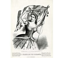 Freedom to Ireland - 1866 - Currier & Ives Photographic Print