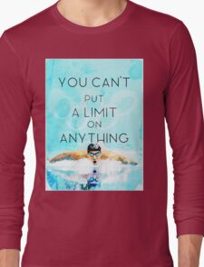 Swimming with no limits Long Sleeve T-Shirt