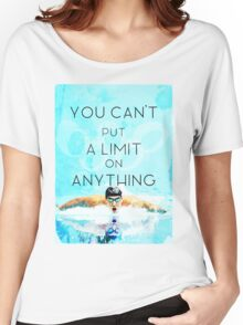 Swimming with no limits Women's Relaxed Fit T-Shirt