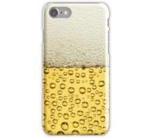 Beer - circle iPhone Case/Skin