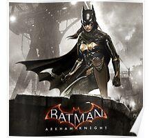 batgirl arkham knight Poster