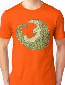 Leafy Green Pangolin Unisex T-Shirt