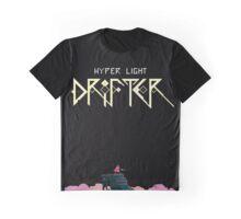 Hyper Light Drifter Title/Drifter Graphic T-Shirt