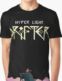 Hyper Light Drifter Title/Drifter Graphic T-Shirt