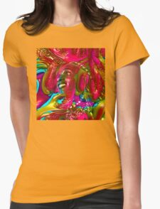 Music Festival Womens Fitted T-Shirt