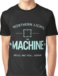Person Of Interest - The Machine - Black Graphic T-Shirt