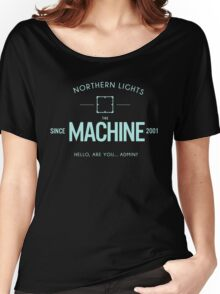Person Of Interest - The Machine - Black Women's Relaxed Fit T-Shirt