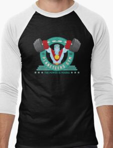 Planeteers Gym Men's Baseball ¾ T-Shirt