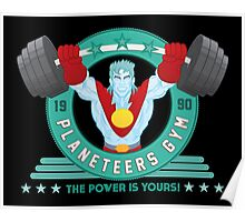 Planeteers Gym Poster