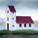 Icelandic Church by DesDaly