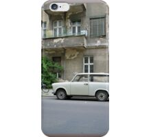 Trabbi, Trabant car from East Germany, in Berlin iPhone Case/Skin