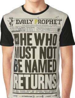 Daily Prophet Graphic T-Shirt