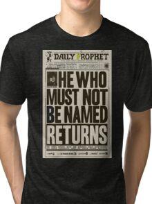 Daily Prophet Tri-blend T-Shirt