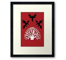 House Blackwood Sigil Framed Print