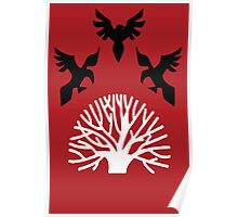 House Blackwood Sigil Poster