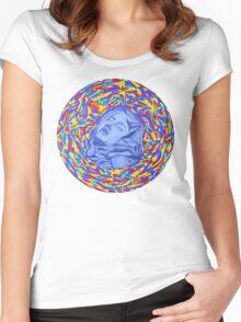 Ecstasy of Saint Teresa  Women's Fitted Scoop T-Shirt