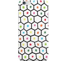 hexagons and dots iPhone Case/Skin