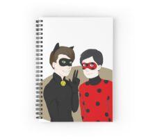 Dan Noir and LesterBug Spiral Notebook