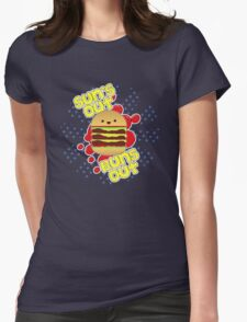 Sun's Out, Buns Out. Womens Fitted T-Shirt