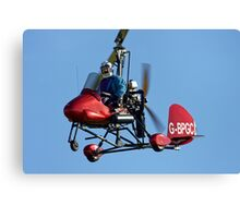 1989 Air Command Gyrocopter Canvas Print