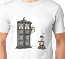 Wall-e meets the Doctor Unisex T-Shirt