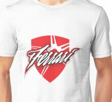 Ferrari red shield Unisex T-Shirt