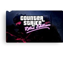 Counter Strike X GTA Canvas Print