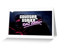 Counter Strike X GTA Greeting Card