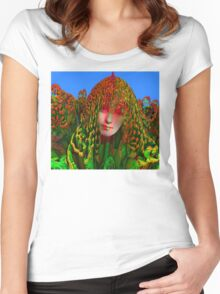 Dreadlock Holiday Women's Fitted Scoop T-Shirt