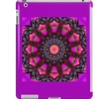 Surreal Blossoms, Flower Mandala iPad Case/Skin