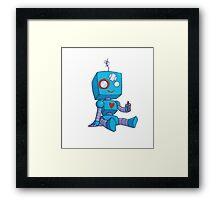 Lonely Bot Framed Print
