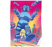 INVASION OF THE GIANT ROBOTS! Poster