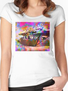 Economy Class Women's Fitted Scoop T-Shirt