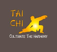 Thai Chi - Cultivate the Harmony (Black background) T-Shirt
