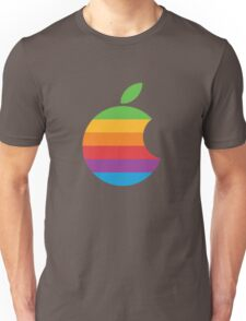 Orange, retro apple Unisex T-Shirt