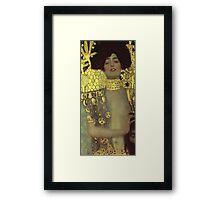 Gustav Klimt - Judith - Klimt -Judith Framed Print
