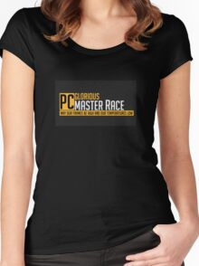 PC Masterrace Collection Women's Fitted Scoop T-Shirt